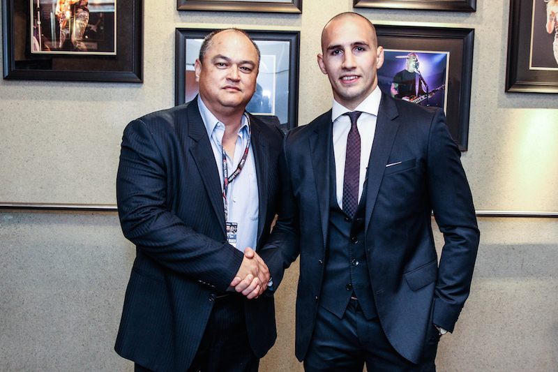 Bellator MMA President Scott Coker welcomes Rory MacDonald