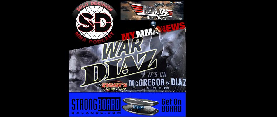 Split Decision MMA Podcast - USADA update