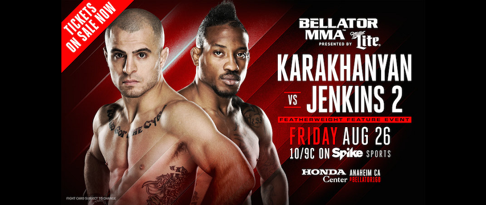 Two Updates to Main Card of Bellator 160 Next Friday on Spike