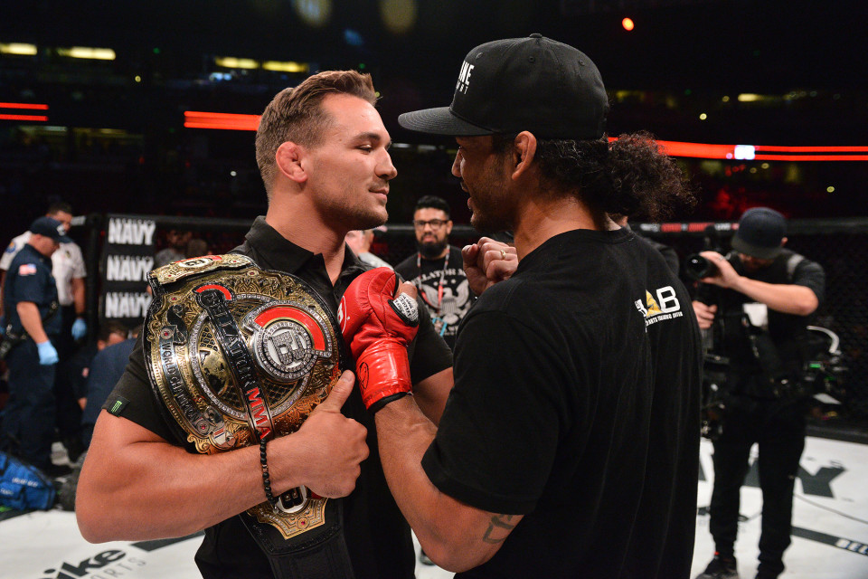 Michael Chandler vs Benson Henderson title fight set for San Jose