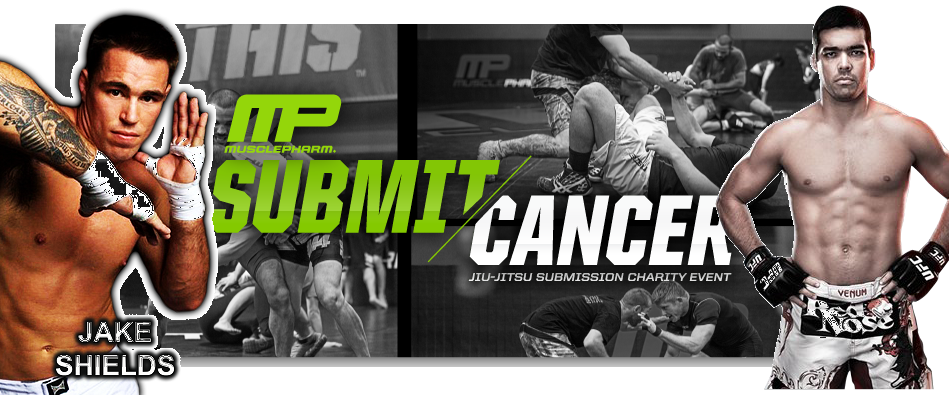 Submit Cancer this weekend:  Lyoto Machida vs Jake Shields co-main event