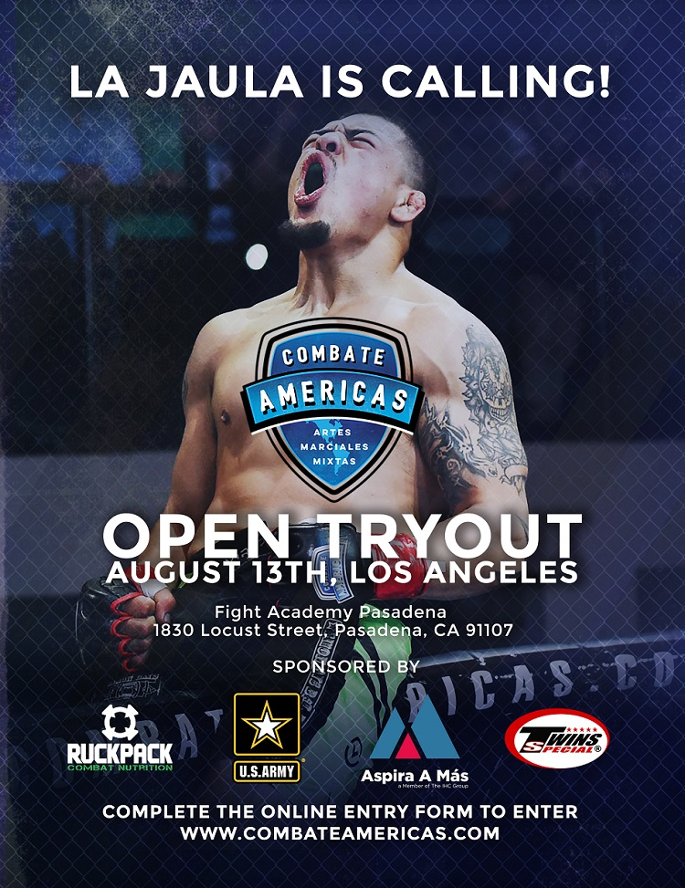 ulianna Pena, Danny Castillo To Host Combate Americas Open Tryout in LA