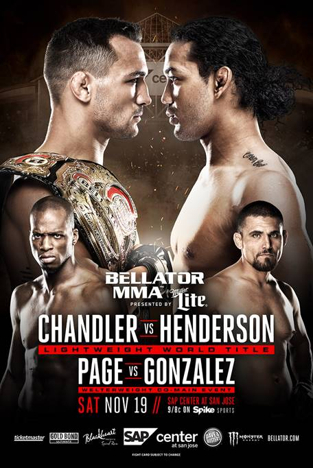 Michael Chandler vs Benson Henderson in San Jose