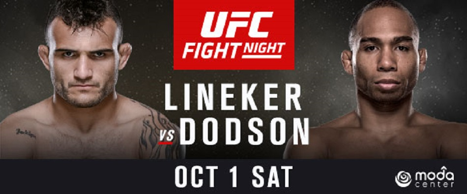 Dynamic Bantamweights Lineker and Dodson to Headline UFC Portland
