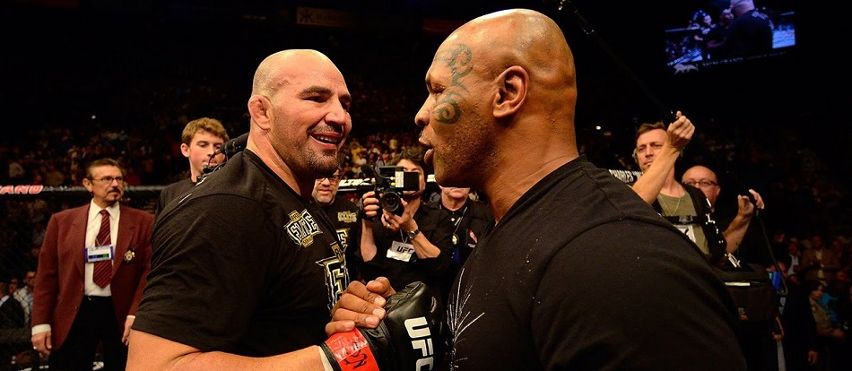 Glover Teixeira visits Mike Tyson's old gym
