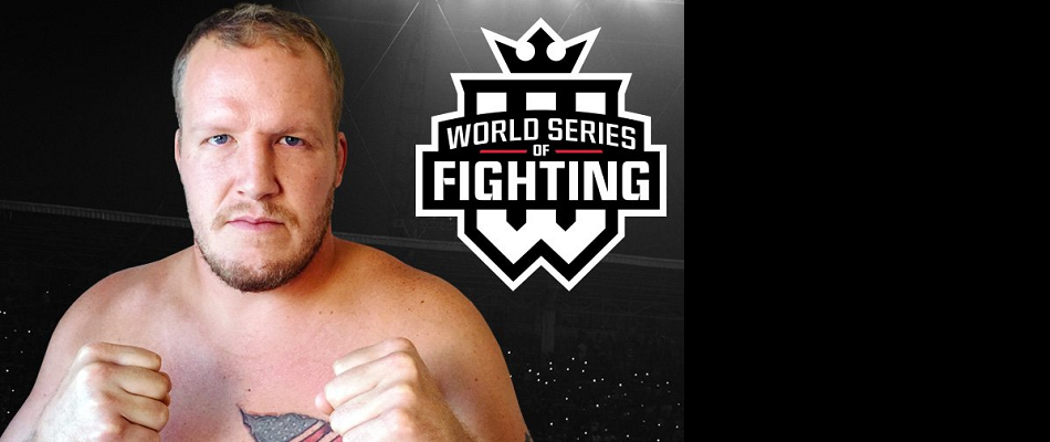 World Series of Fighting Inks Heavyweight Star Jared Rosholt