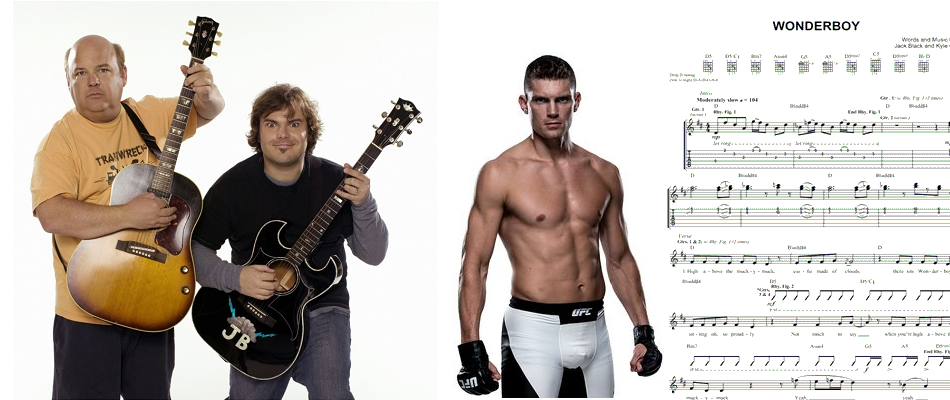 Stephen'Wonderboy' Thompson wants Jack Black and Tenacious D to sing'Wonderboy' at his UFC title shot