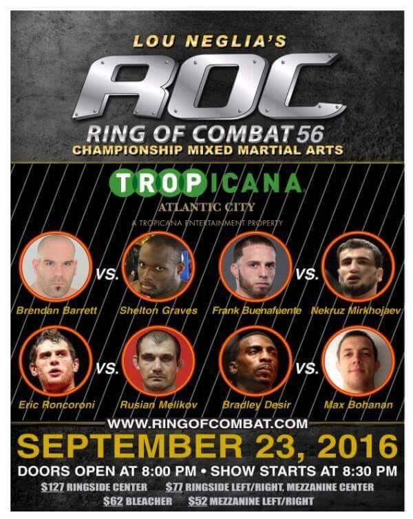 Ring of Combat 56