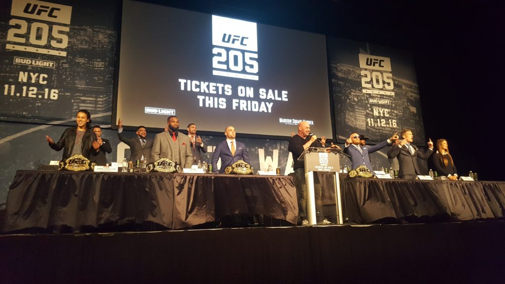 UFC 205: Alvarez Vs. McGregor LIVE Press Conference Coverage
