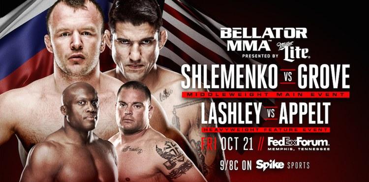 WATCH:  Bellator 162 Shlemenko vs. Grove preliminary bouts – 7 pm EST