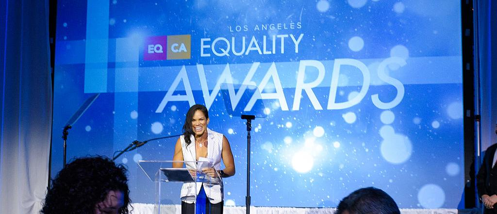 Equality California's Equality Awards - Amanda Nunes