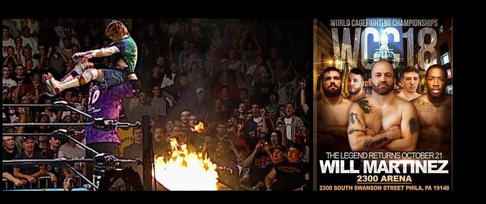 WCC 18 Arrives at Historic ECW Pro Wrestling 2300 Arena