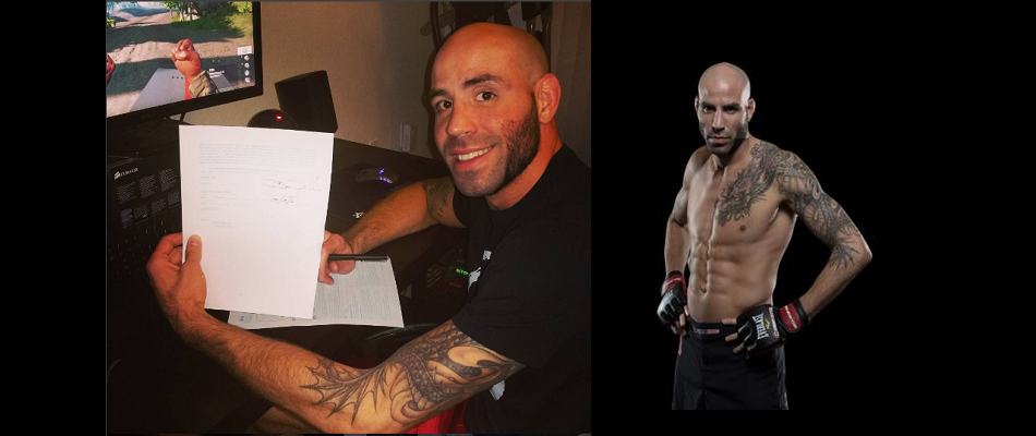 Ben Saunders back on UFC roster for third time