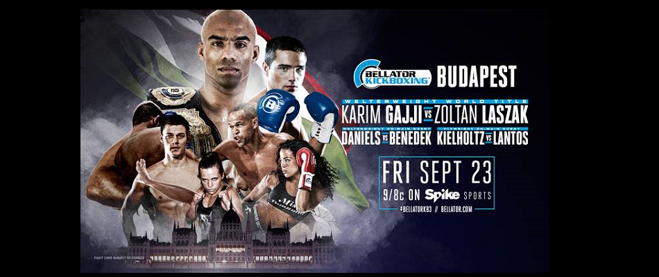 Bellator Kickboxing: Budapest Airs TONIGHT on SPIKE at 9 p.m. ET/8 p.m. CT