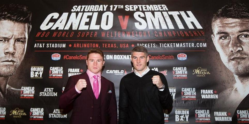 HBO BOXING:  Canelo Alvarez vs. Liam Smith results
