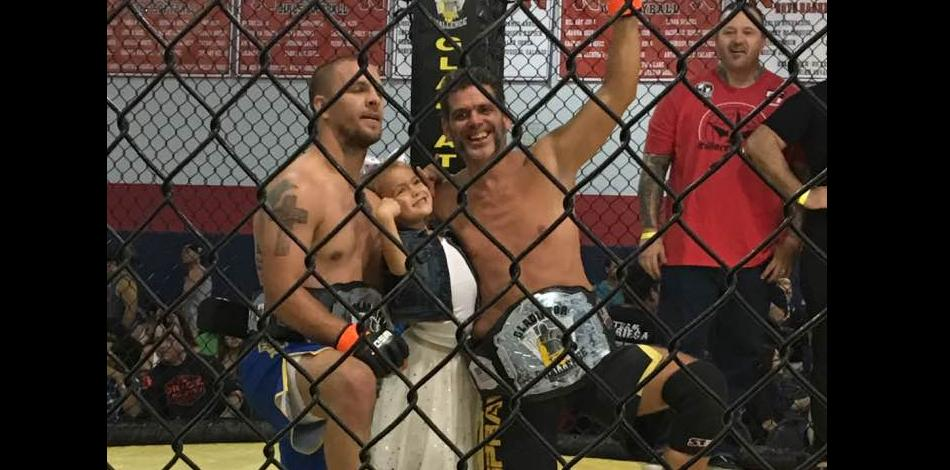 Father and son fight and get wins and titles on same MMA fight card