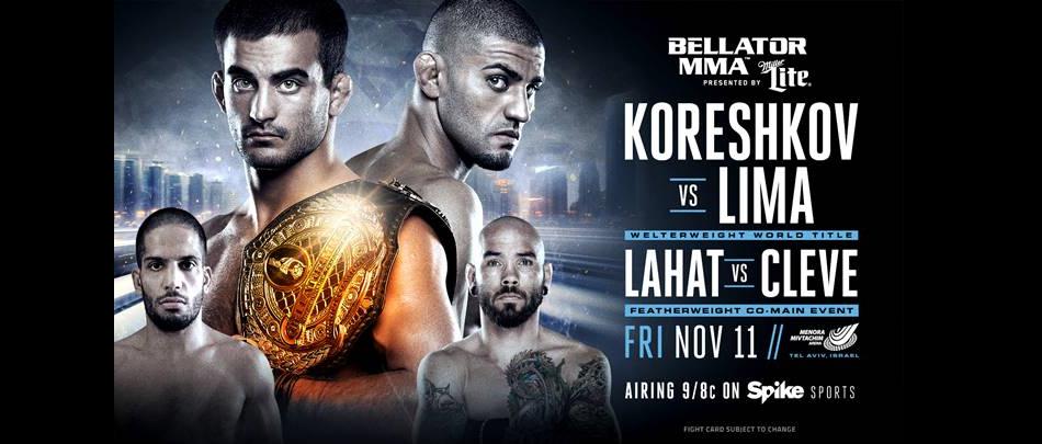 Bellator Brings World Championship MMA to Tel Aviv, Israel in November