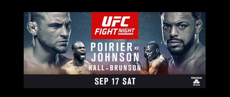 ufc fight night: poirier vs johnson