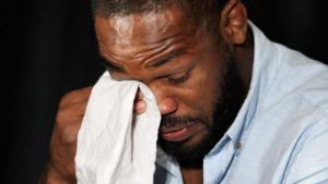Jon Jones crying
