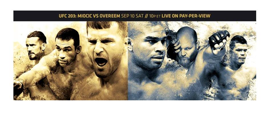 UFC 203 Results:  Miocic vs Overeem, CM Punk Debut