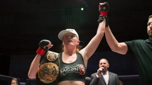 With Invicta FC 18 title defense win, Tonya Evinger to have 10 in row