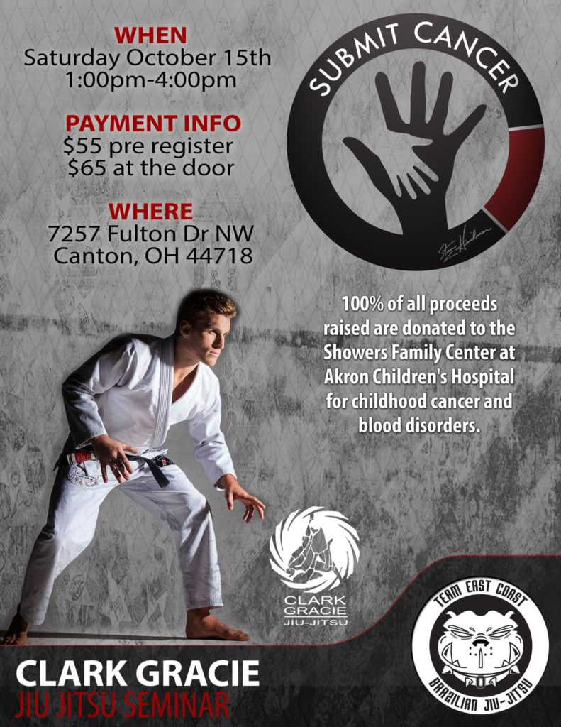 5th Annual BJJ Cancer Awareness Seminar with Clark Gracie