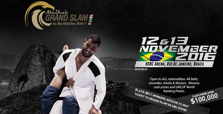 Rio De Janeiro Hosts The Third Leg of The Abu Dhabi Grand Slam Jiu-Jitsu World Tour