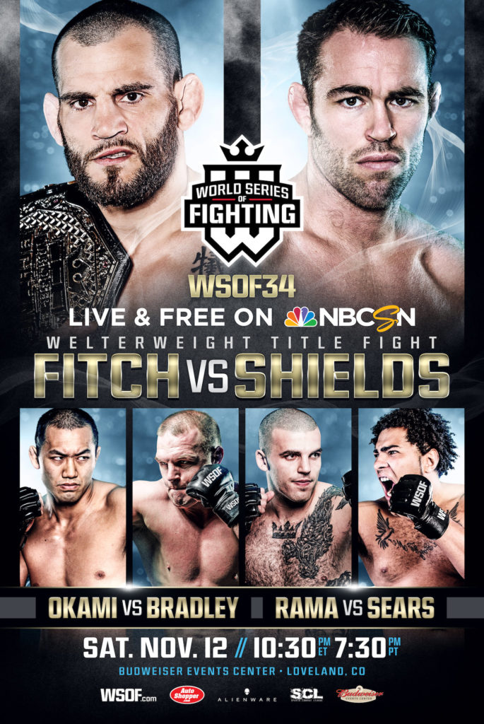 "WSOF 34: ""Who's The Toughest?"" Kicks Off With Four Military Vets In Action"
