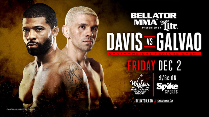 Marcos Galvao vs L.C. Davis - Bellator 166