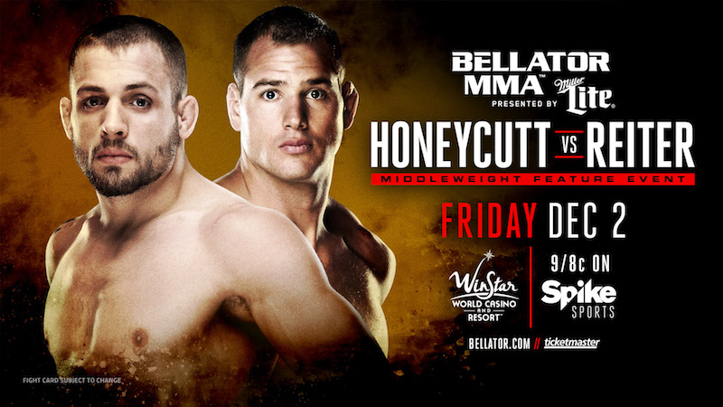 Chris Honeycutt and Ben Reiter - Bellator 166