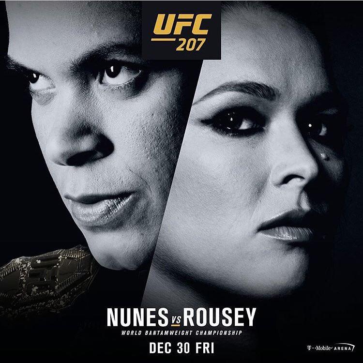 UFC 207 - Ronda Rousey returns