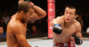 'Korean Zombie' Chan Sung Jung vs Jose Aldo - UFC photo