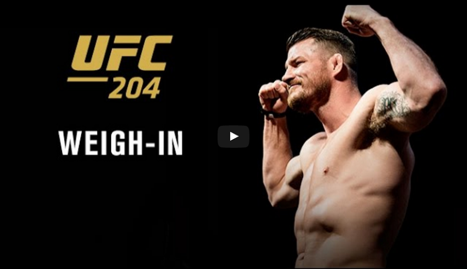 UFC 204 weigh-in results