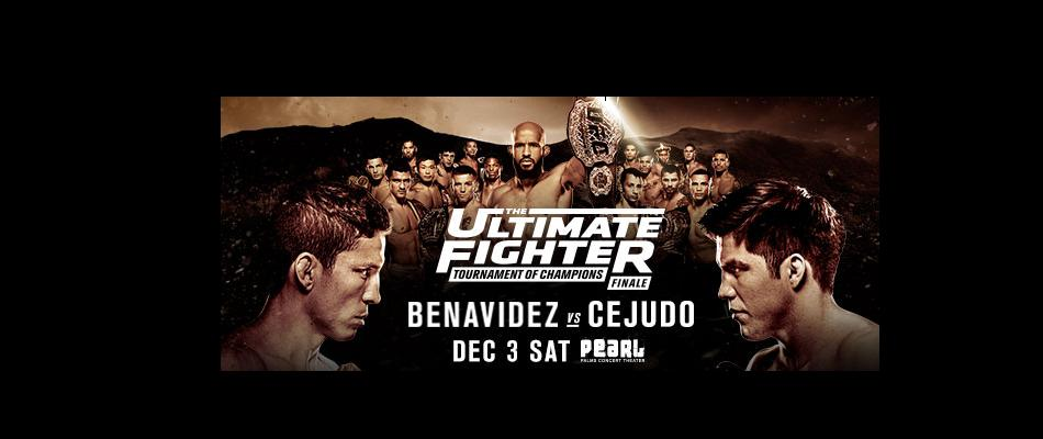 The Ultimate Fighter: Tournament of Champions Finale Tix on Sale Friday