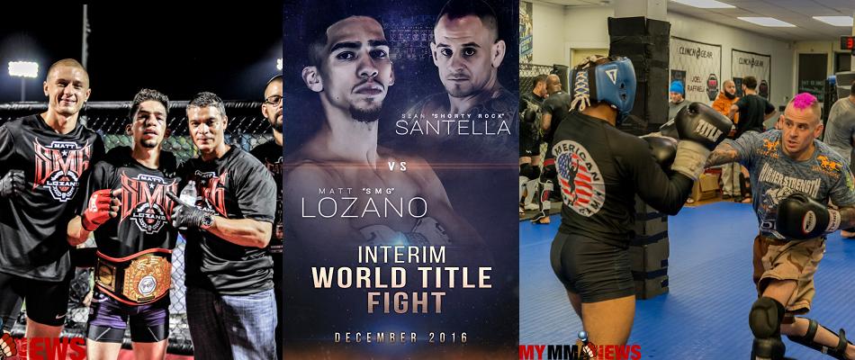 """Matt 'SMG' Lozano on fighting Sean Santella: """"The fans deserve this fight"""""""