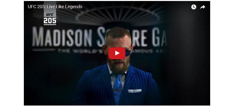 WATCH: Chilling UFC 205 Promo: Live Like Legends