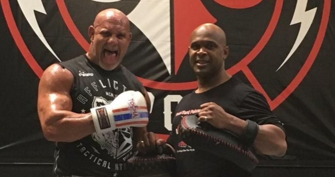 VIDEO: Bill Goldberg training Muay Thai for WWE return against Brock Lesnar