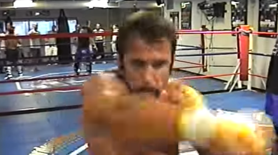 VIDEO SURFACES:  Phil Baroni vs Chuck Liddell sparring session