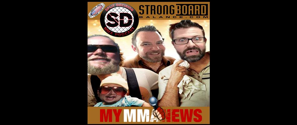WATCH:  New Split Decision MMA Podcast – Tons of MMA News