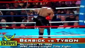 30th anniversary of Mike Tyson's first pro boxing title - November 22, 1986