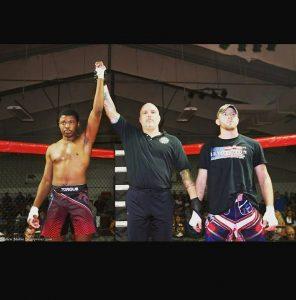 Kaheem Murray defeated Branden Hudson at Stellar Fights