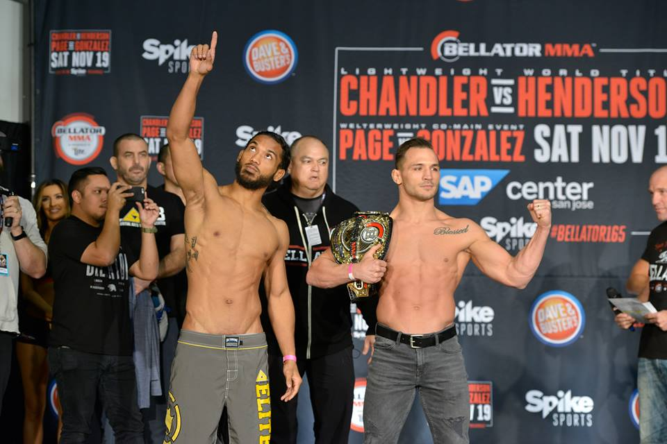 Bellator 165 results: Michael Chandler vs. Benson Henderson