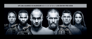 UFC 205 Results - Historic Fight Card at Madison Square Garden
