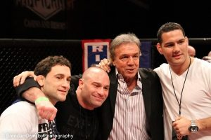 Frankie Edgar, Matt Serra, Louis Neglia, Chris Weidman