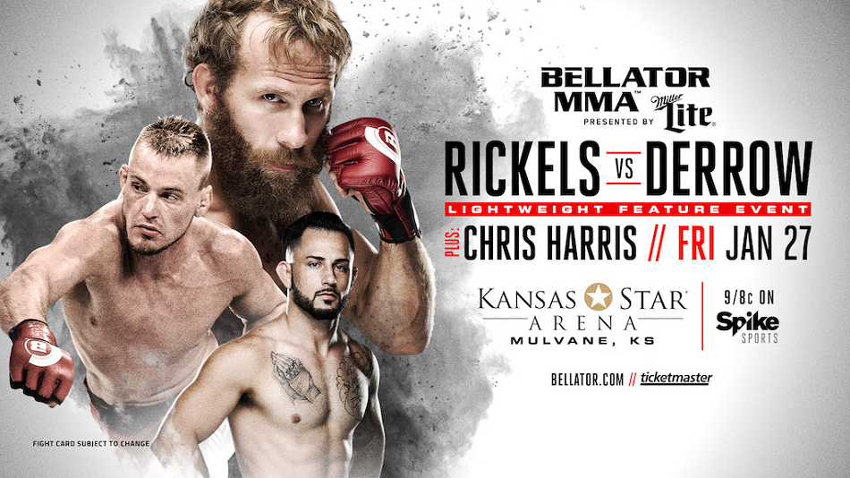 David Rickels vs. Aaron Derrow set for Kansas Star Arena