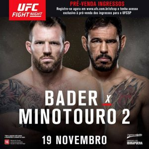 UFC Fight Night 100 - Bader vs. Nogueira 2