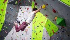 Spooky Nook rock climbing wall
