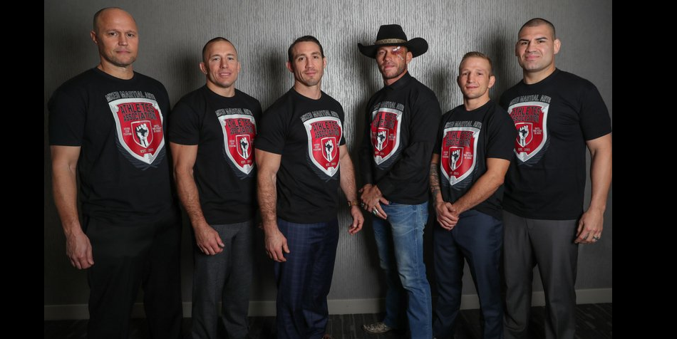 Famed fighters align with Bjorn Rebney, form Mixed Martial Arts Athlete Association
