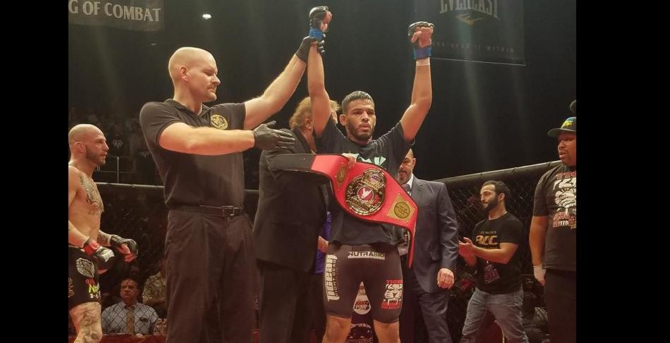 Ring of Combat 57 results: Julio Arce wins 145lb title