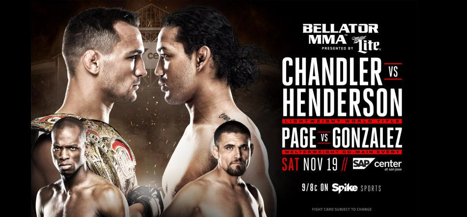 Bellator 165: Chandler vs. Henderson Media Call Highlights with Audio